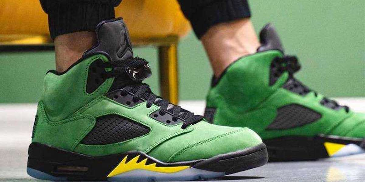 Best Selling Air Jordan 5 Oregon Ducks Elevate is Available Now