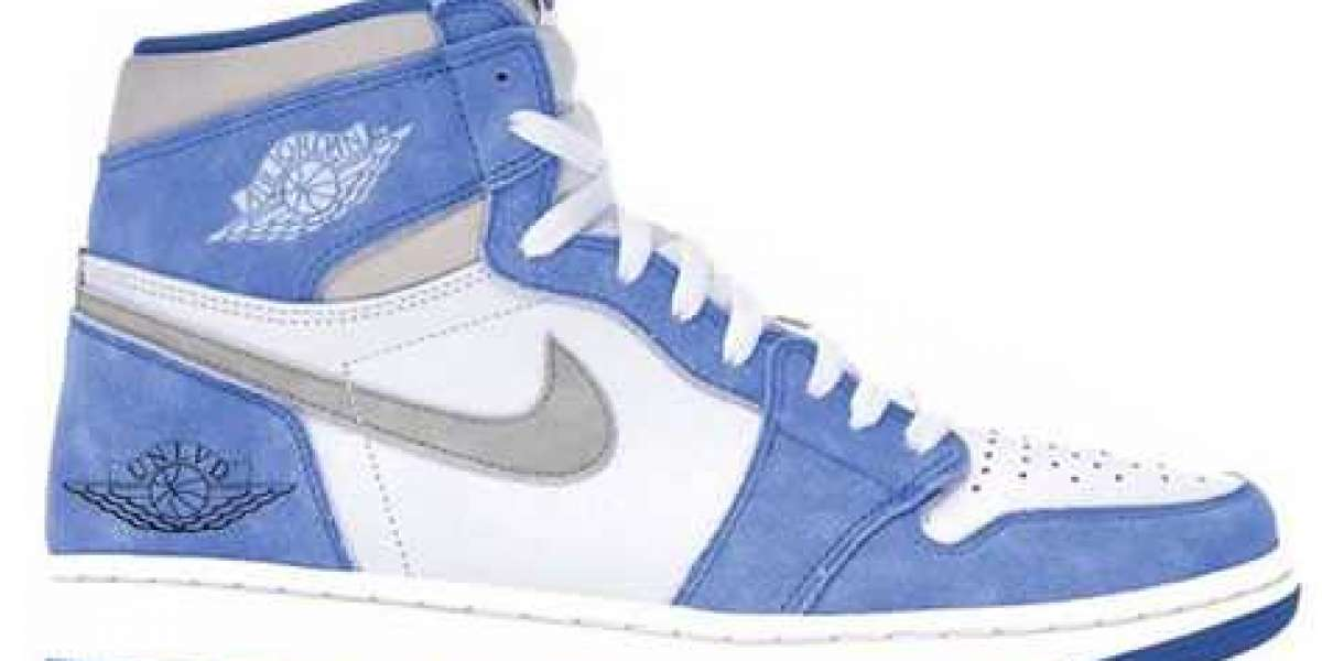 "Aj 1 High OG ""Hyper Royal"" 555088-402 Hyper Royal/Light Smoke Grey-White will be released in March 2021"