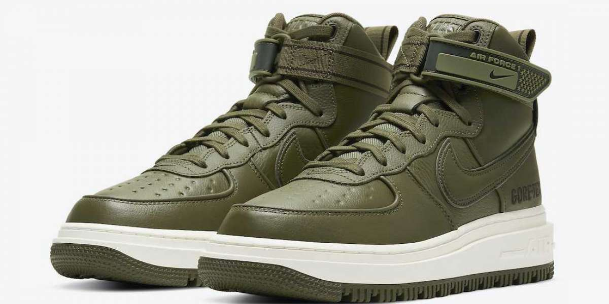 "Nike Air Force 1 Gore-Tex Boot ""Medium Olive"" To Buy CT2815-201"