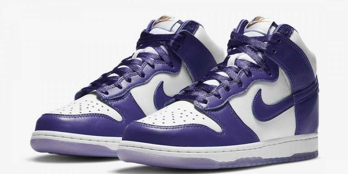 "DC5382-100 Nike Dunk High SP ""Varsity Purple"" to release on December 3rd 2020"