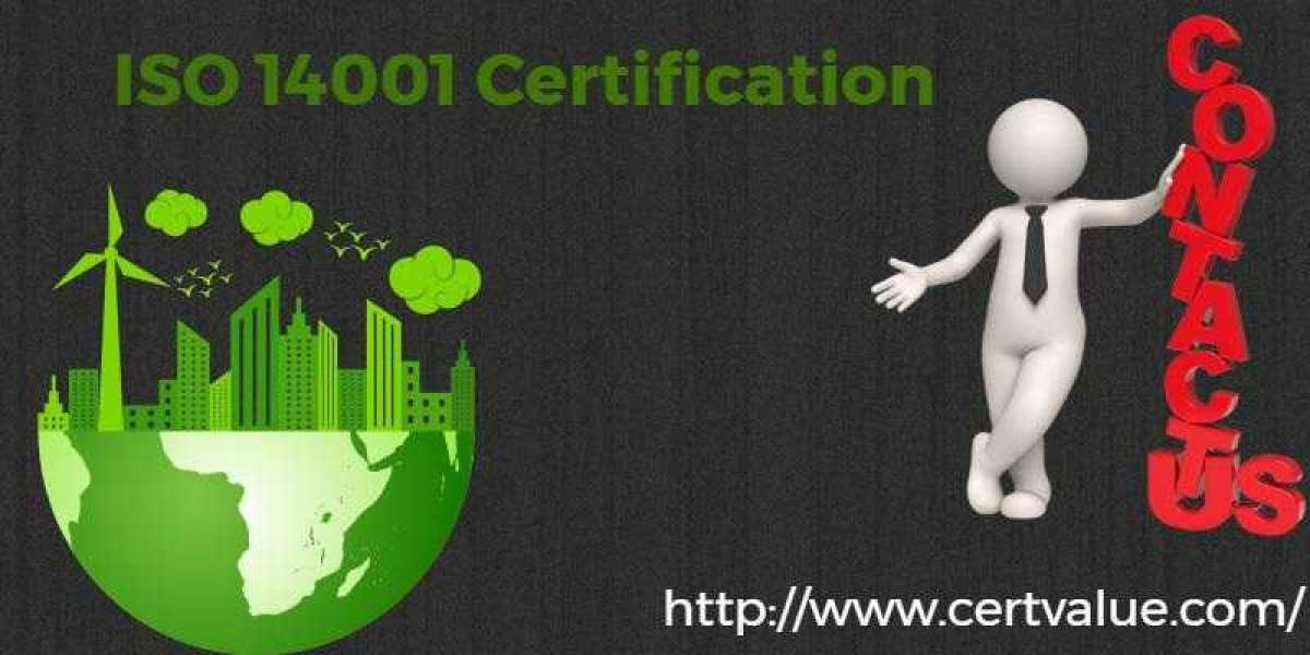 Steps to be followed during ISO 14001 certification.