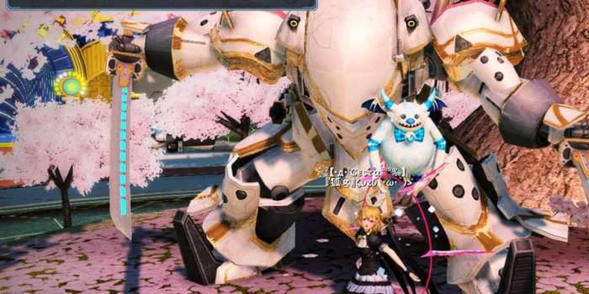 Phantasy Star Online 2 today has one million players worldwide