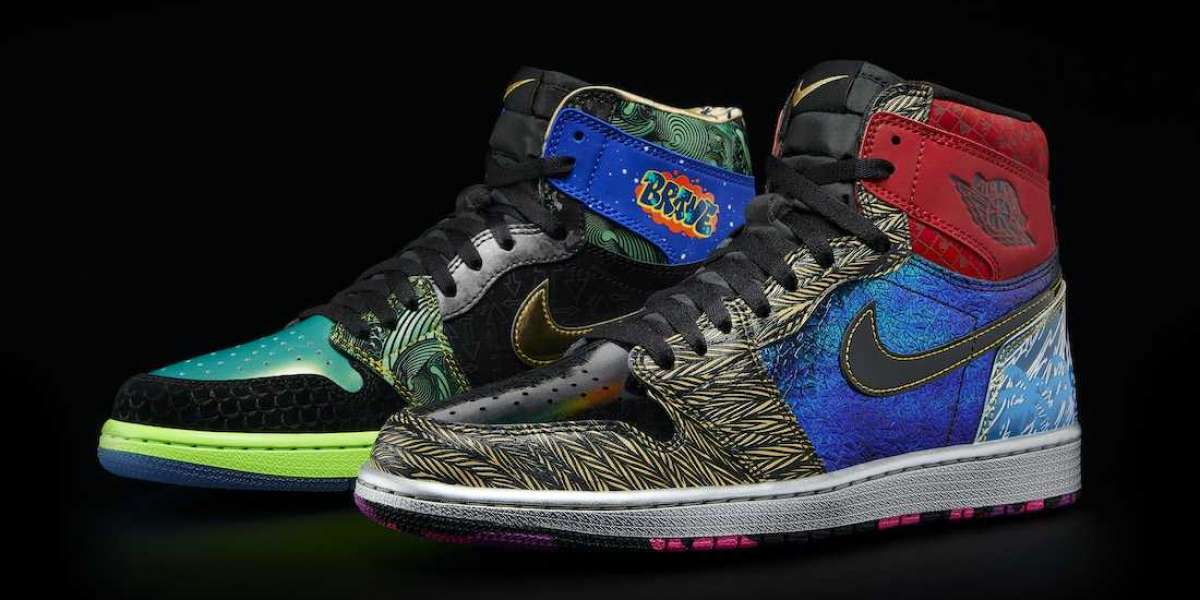 "Brand New Air Jordan 1 ""What The Doernbecher"" Basketball Shoes"