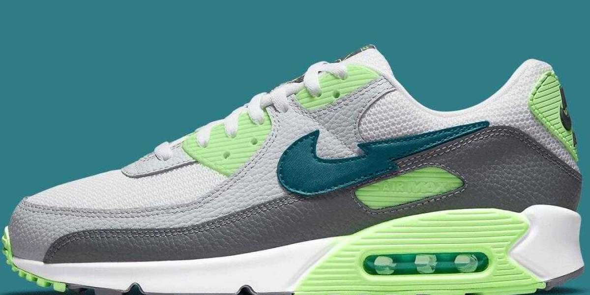 The New Release Nike Air Max 90 Coming With Lightning Bolt Swoosh