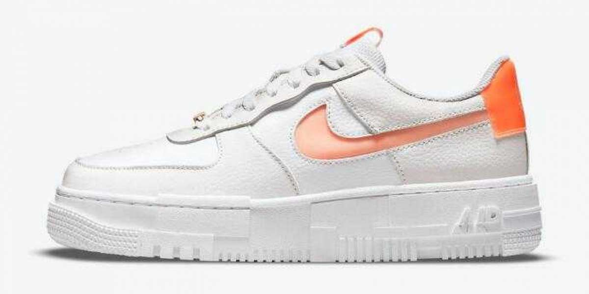 Latest Nike Air Force 1 Pixel White Coming With Peachy Hues