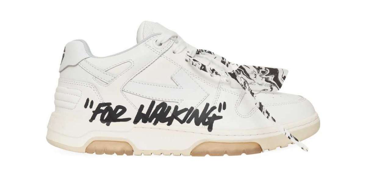 "Brand New Off-White™ ""Out of Office"" Walking Sneakers"