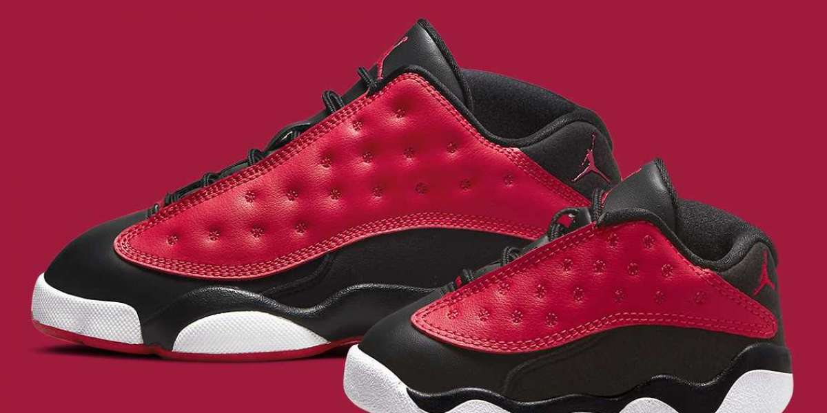 """Air Jordan 13 Low """"Very Berry"""" DA8019-061 will be released on July 8"""